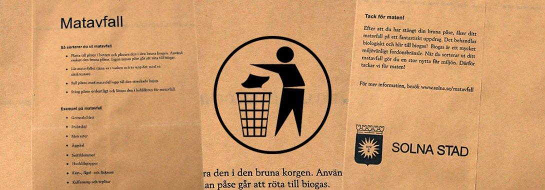 Sophantering och återvinning
