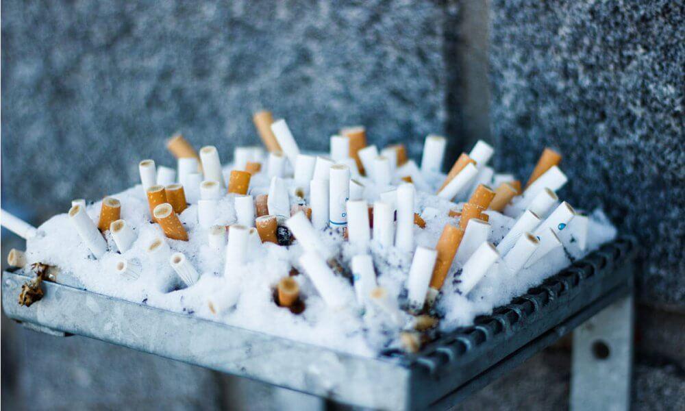 Rökning på föreningens ytor