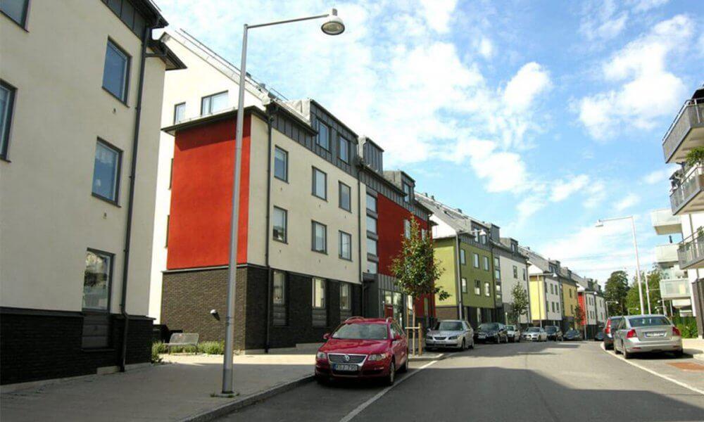 Besiktning av fastigheternas fasader